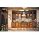 Кухня с фасадами из массива №03