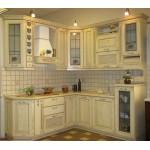 Кухня с фасадами из массива №16