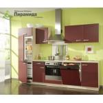 Кухня с крашенными фасадами №04