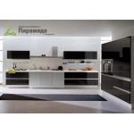 Кухня с крашенными фасадами №06
