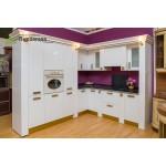 Кухня с крашенными фасадами №07