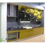Кухня с фотопечатью №02