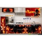 Кухня с фотопечатью №03