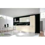 Кухня с фасадами из пластика №04