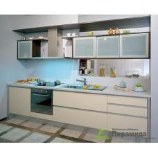 Кухня с фасадами из пластика №05