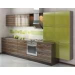 Кухня с фасадами из пластика №08