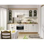 Кухня с шпонироваными фасадами №05