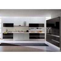 Кухни с крашеными фасадами (7)